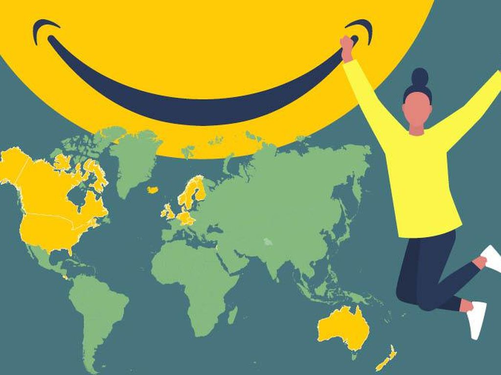 Bocoran Aja Nih, 20 Negara Paling Bahagia di Dunia