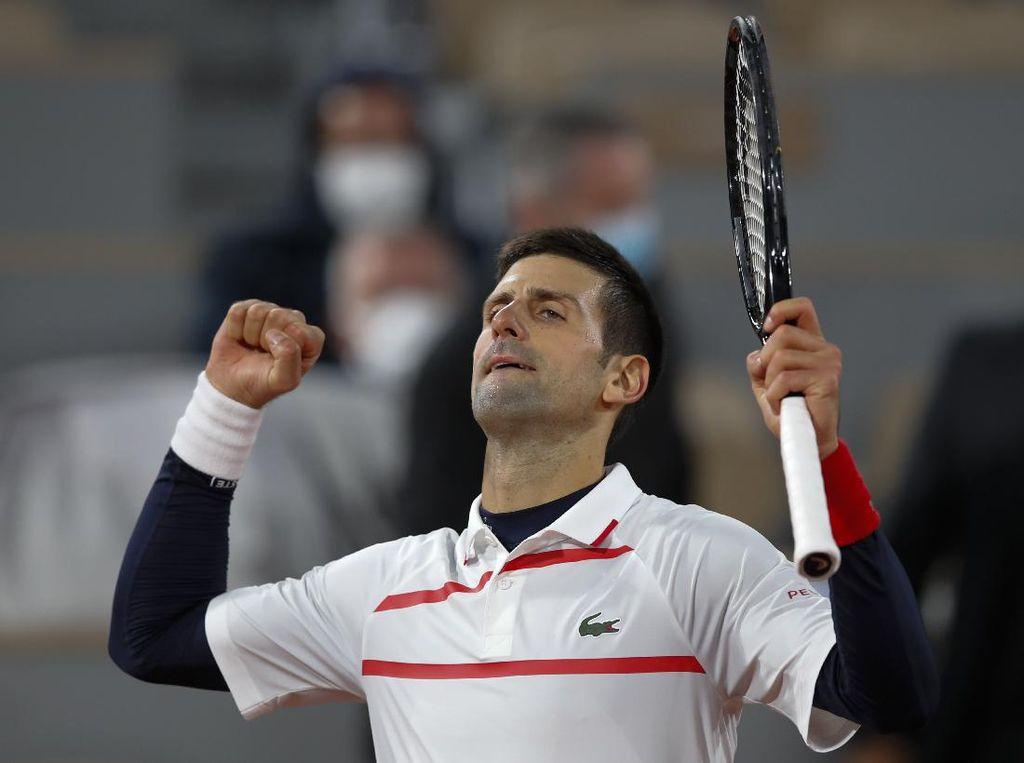 Prancis Terbuka: Djokovic Ikuti Jejak Nadal Lolos ke Semifinal