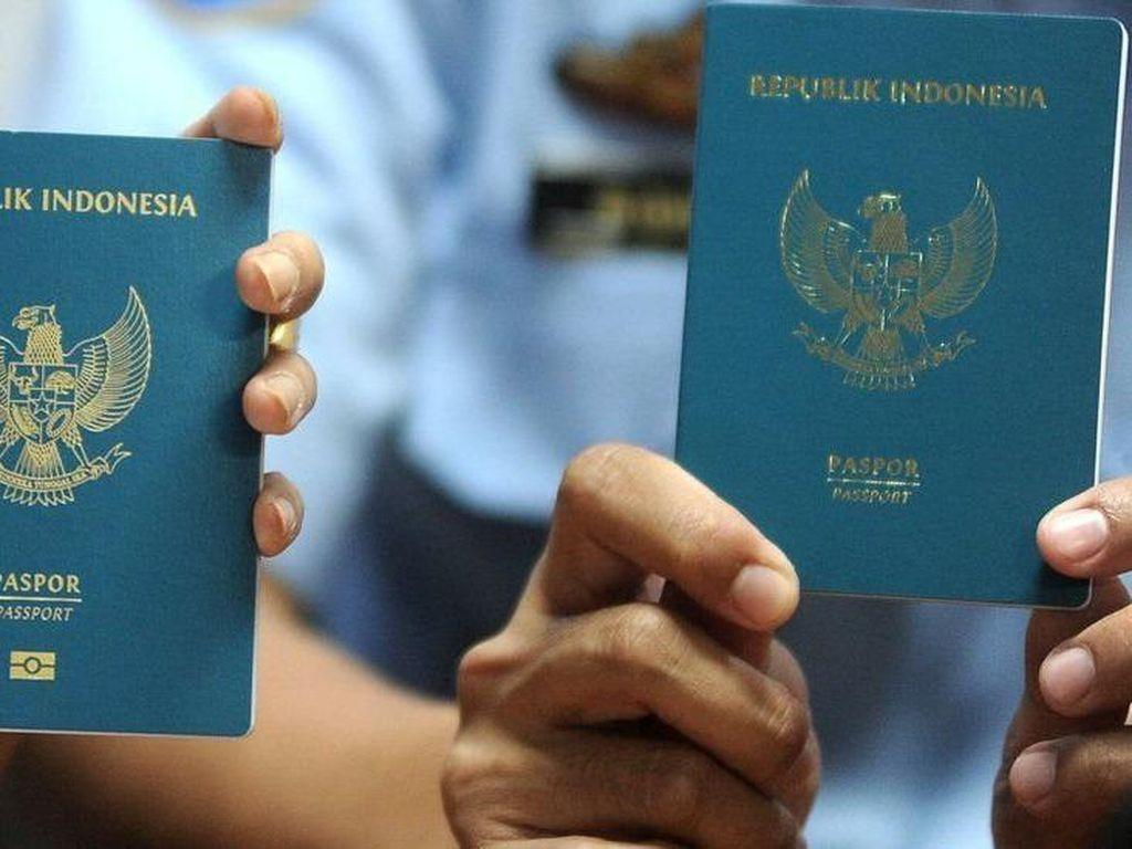 Paspor Indonesia Turun Peringkat di Tahun 2021, No 5 di ASEAN