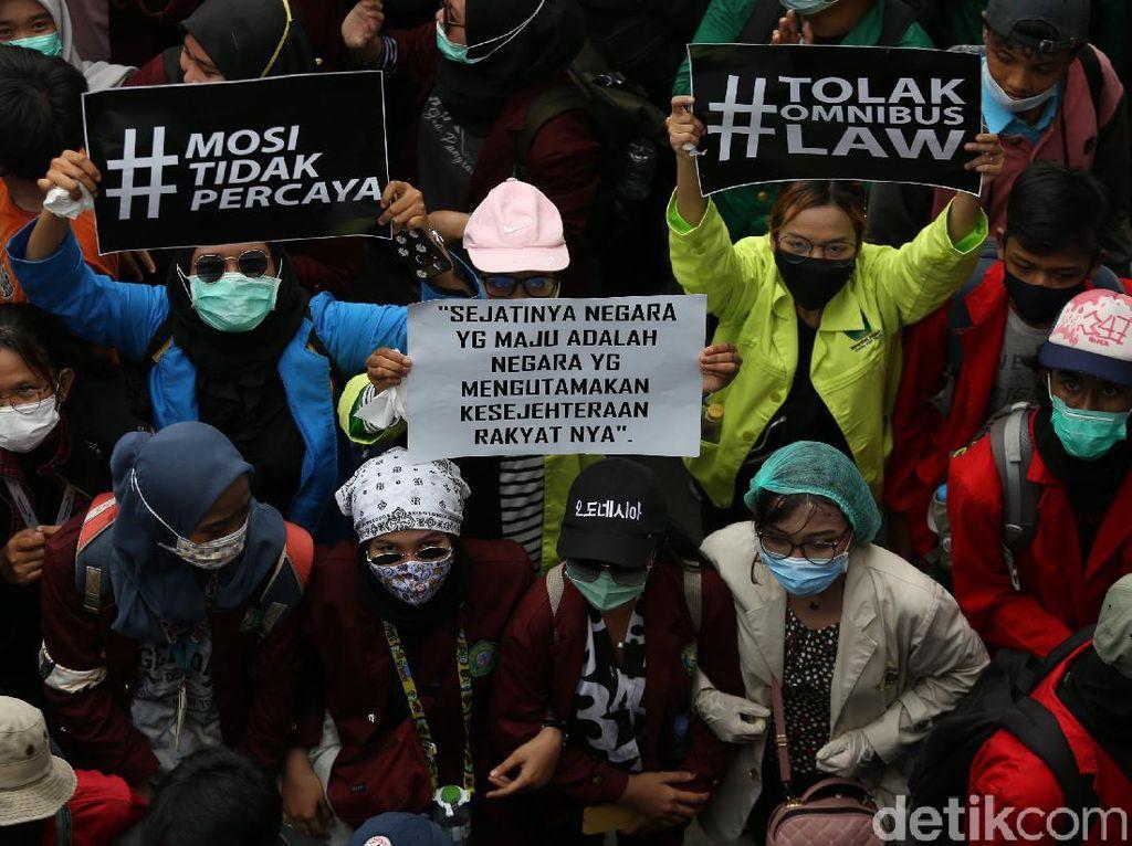 BEM SI Jabodetabek Akan Kembali Demo Tolak UU Cipta Kerja Besok