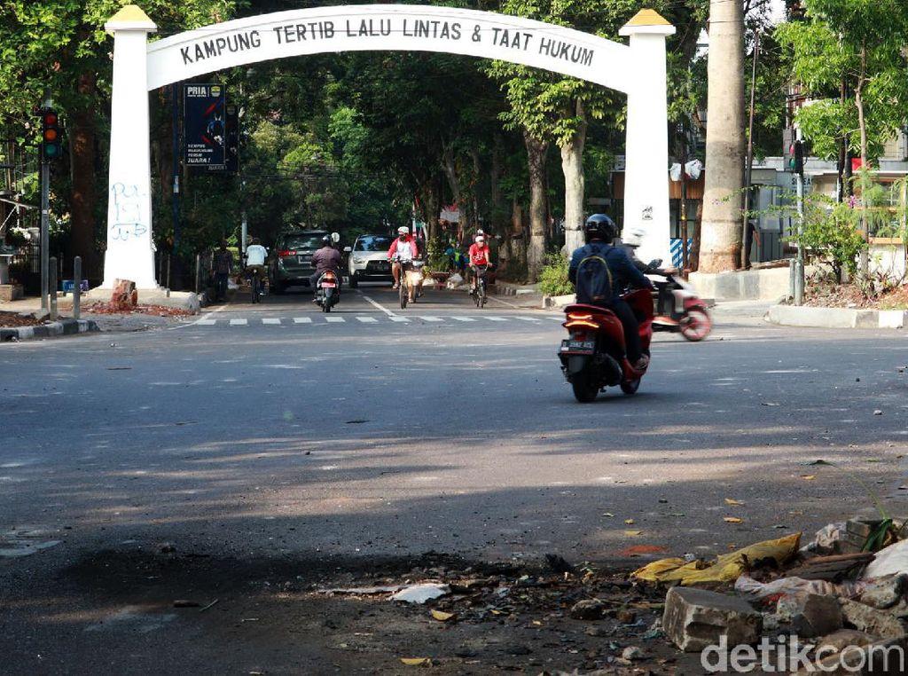 Demo Lanjutan Tolak Omnibus Law di Bandung, Ada Rekayasa Lalin?