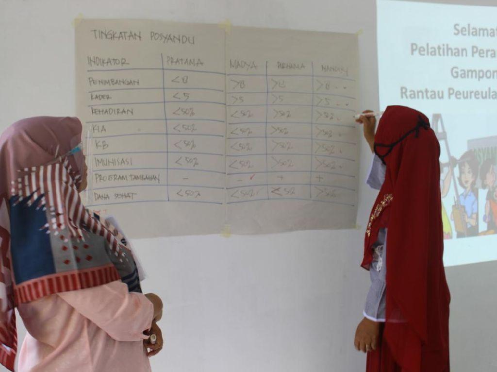 Turunkan Angka Stunting, Pertagas Latih Kader Posyandu di Aceh Timur