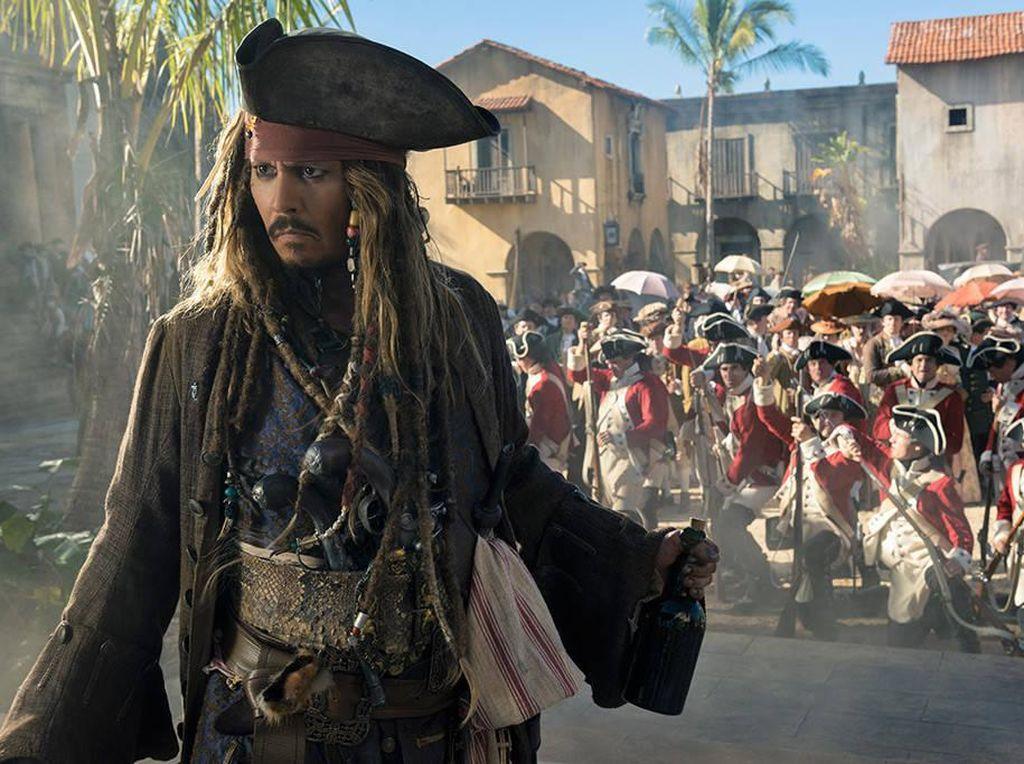 Imbas Kasus KDRT, Johnny Depp Dicoret Disney Tampil Jadi Jack Sparrow