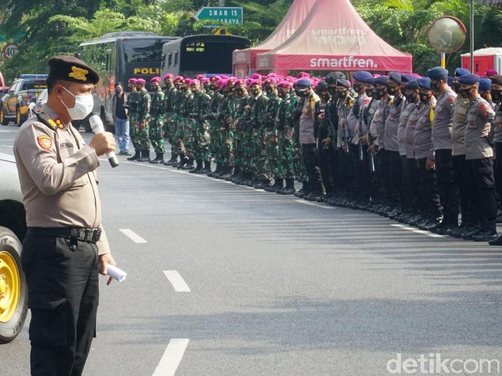 4.360 Personel Disiagakan Antisipasi Demo Tolak Omnibus Law di Surabaya