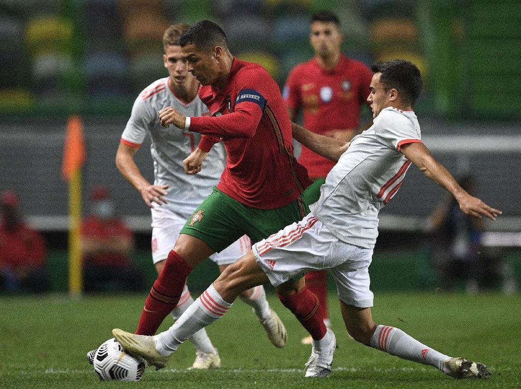 Duel Portugal Vs Spanyol Berakhir Imbang Tanpa Gol
