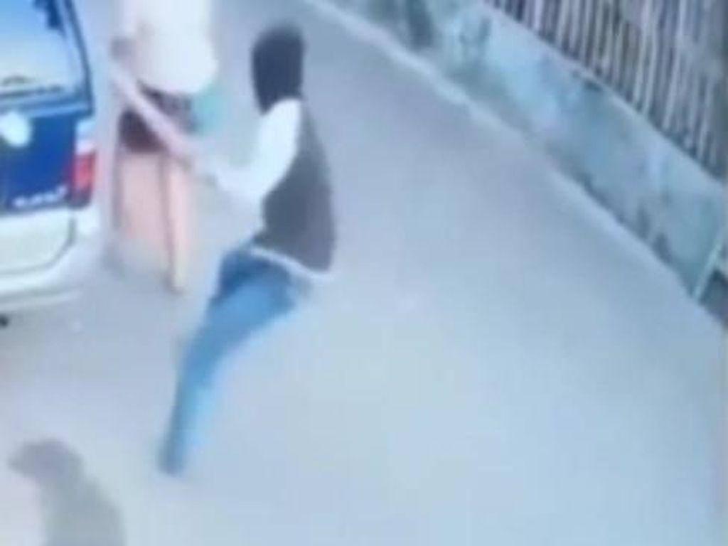 Pemulung Sadis yang Hantam Perempuan Pakai Balok Ditangkap!