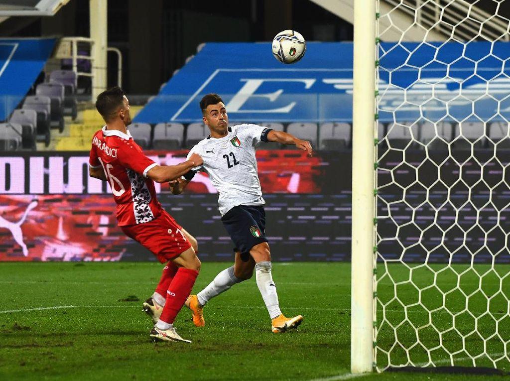 Italia Vs Moldova: El Shaarawy Bersinar, Azzurri Menang 6-0