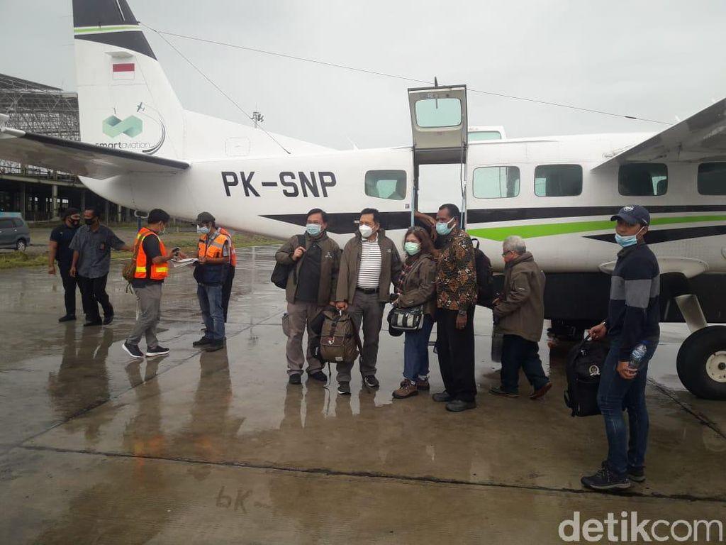 Anggota TGPF-Prajurit TNI Korban Penembakan KKB Diterbangkan ke Jakarta