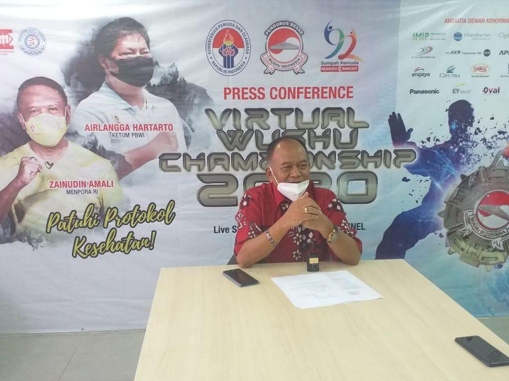 Wushu Gelar Kejuaraan Virtual