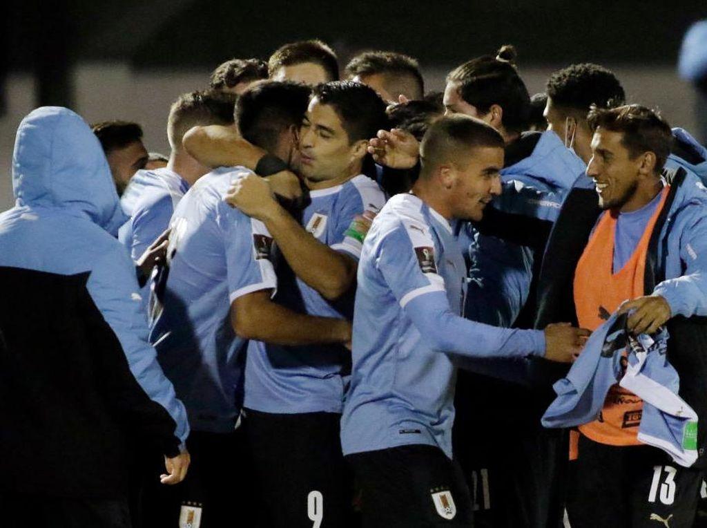 Uruguay Vs Chile: La Celeste Menang Berkat Gol di Menit Akhir