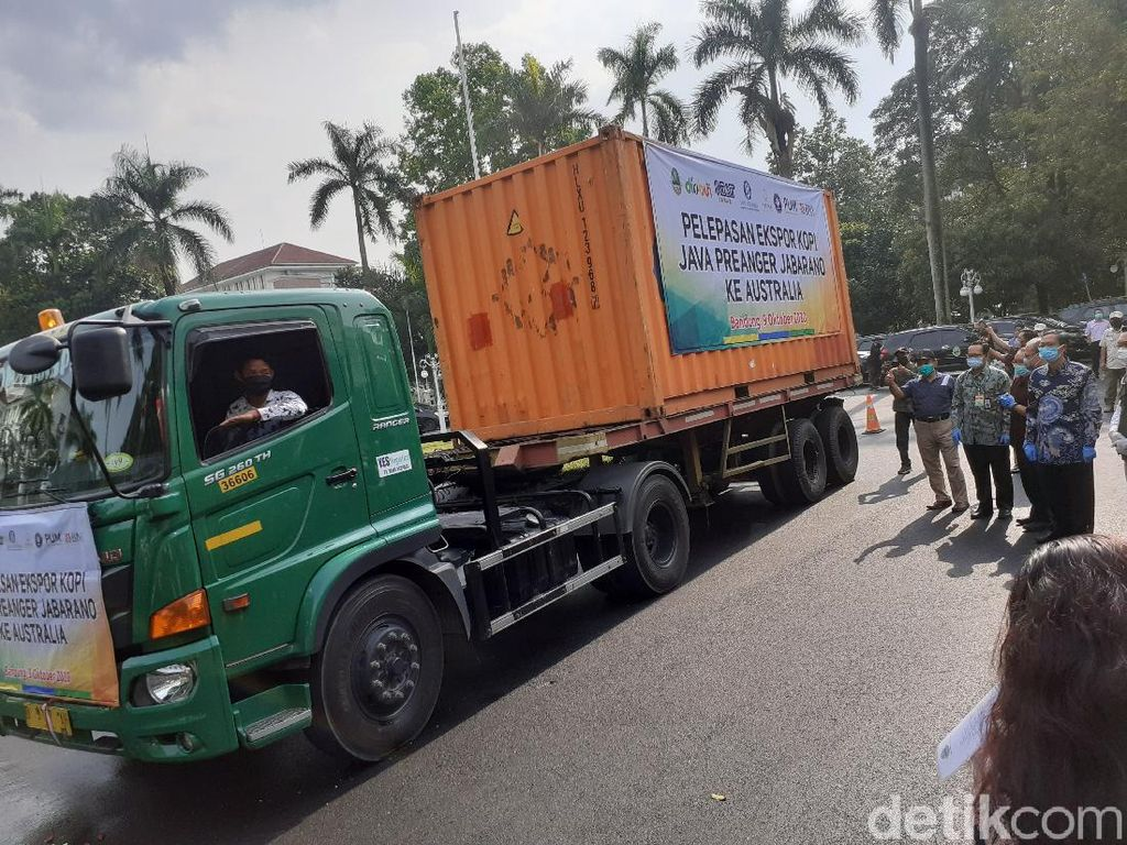 16 Ton Kopi Java Preanger Diekspor ke Australia
