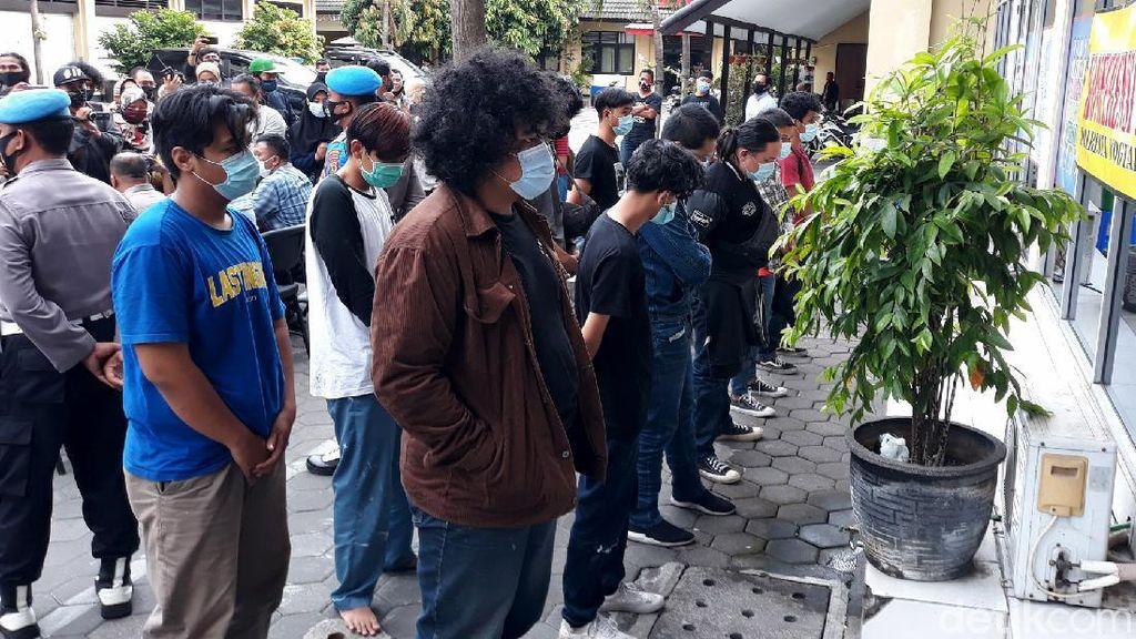 95 Orang Diamankan Imbas Demo Rusuh di Yogyakarta