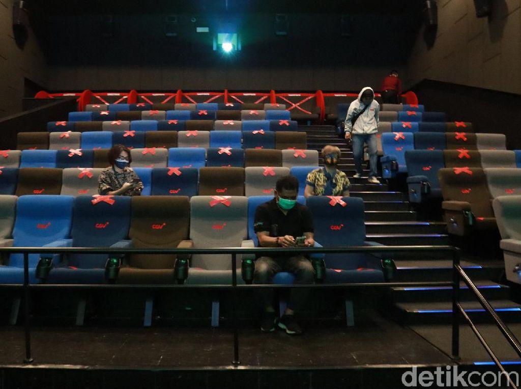 Kapasitas 25 Persen, Ini Aturan untuk Bioskop di DKI yang Buka Mulai Hari Ini