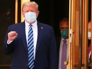Donald Trump soal Corona: Sekarang Saya Kebal!