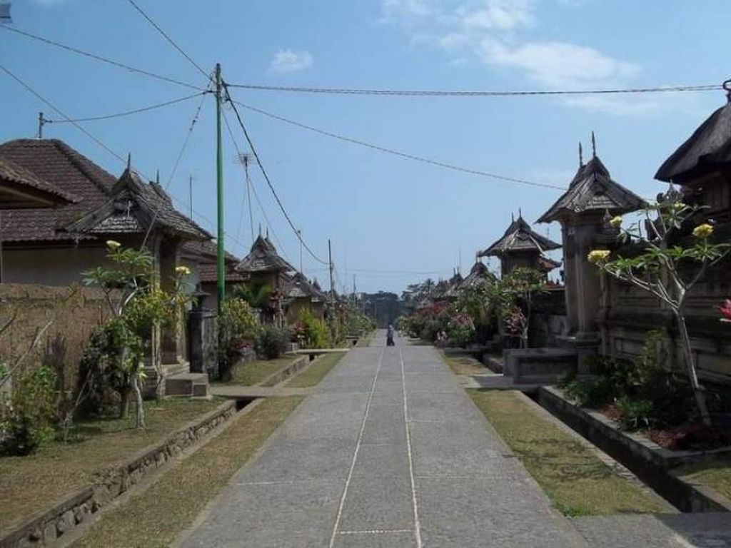 Begini Potret Suasana Desa Wisata Penglipuran Bali