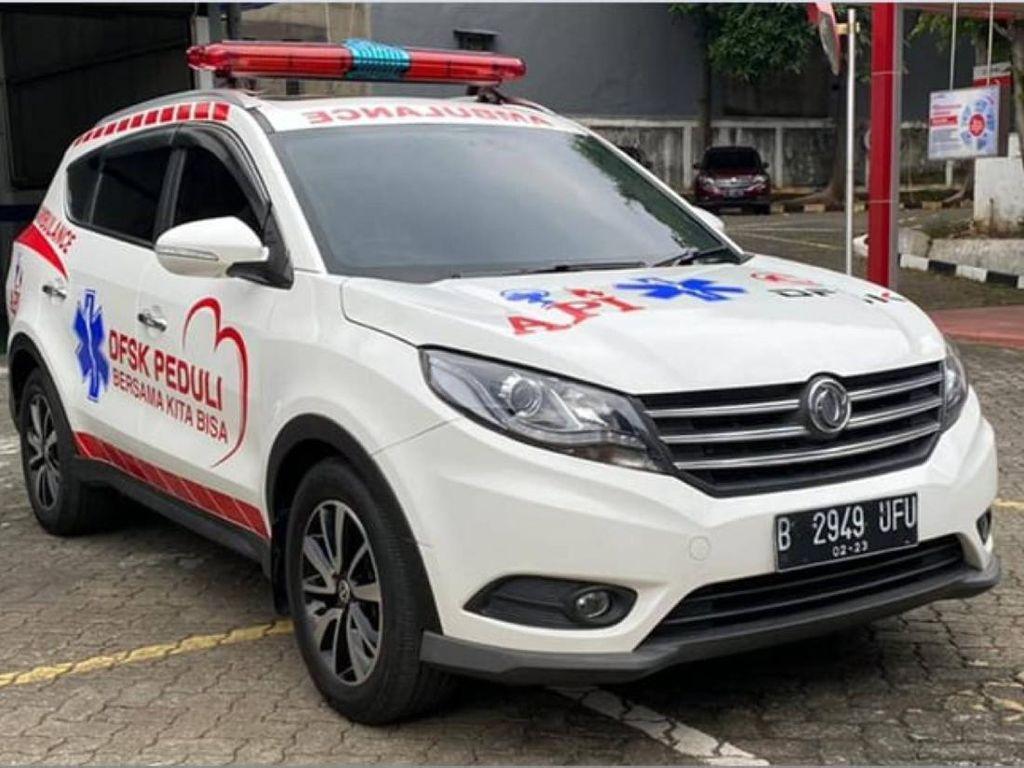 SUV China Disulap Jadi Ambulans, Punya Spek Khusus Pasien COVID