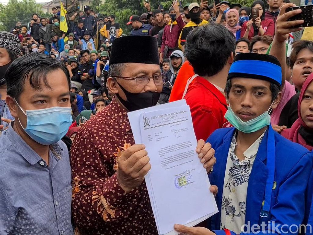 DPRD Kota Sukabumi dan Kuningan Sepakat Tolak Omnibus Law