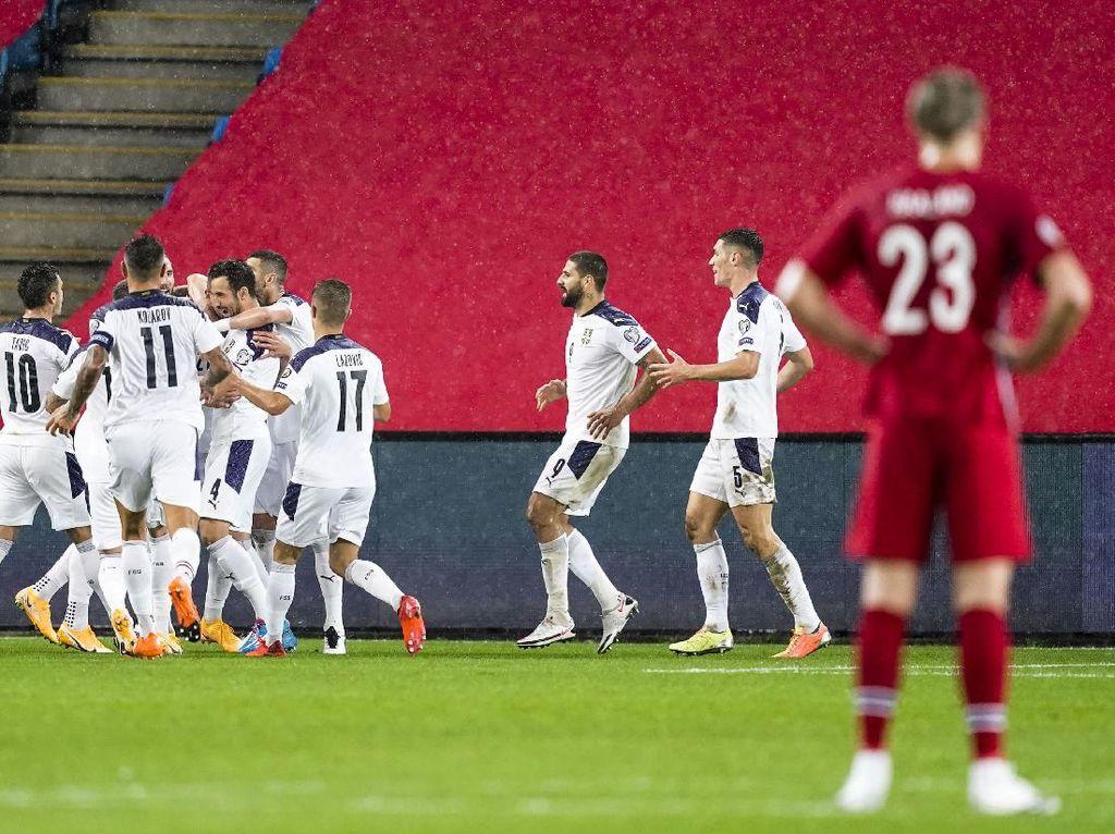 Maaf, Belum Waktunya Haaland Tampil di Piala Eropa