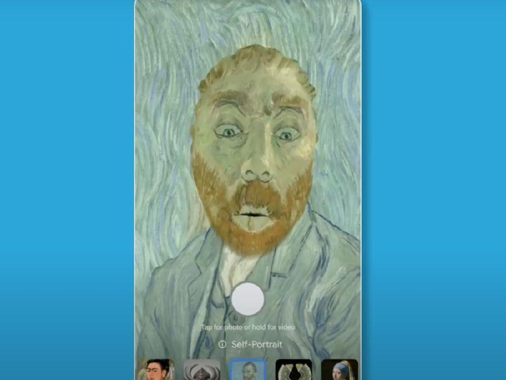 Keren! Google Arts and Culture Ajak Kamu Selfie di Karya Van Gogh
