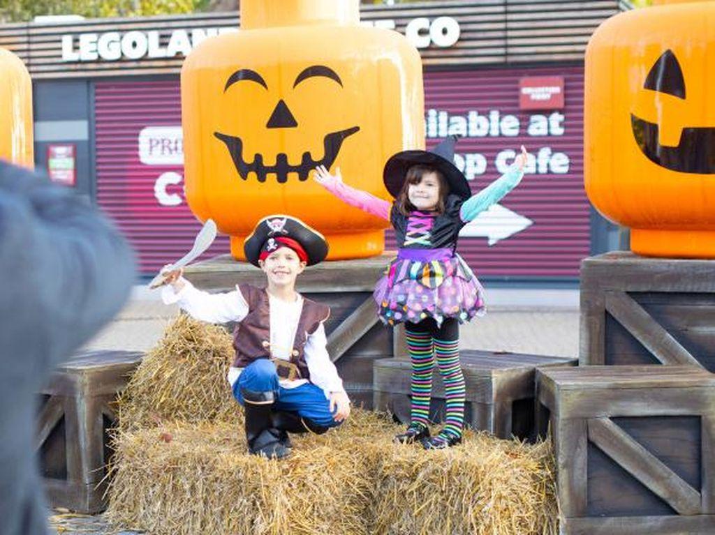Meski Pandemi, Legoland Inggris Tetap Gelar Pesta Halloween