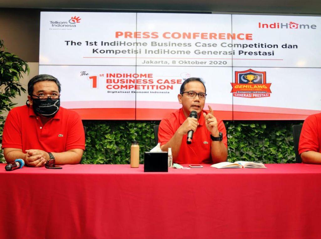 Dukung Pendidikan, Telkom Gelar IndiHome Business Case Competition