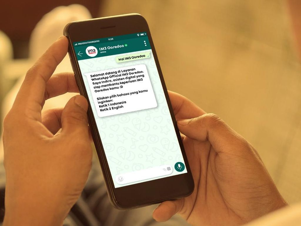 Indosat WhatsApp IM3 Ooredoo: Bisa Aktifkan Paket dan Terima Keluhan
