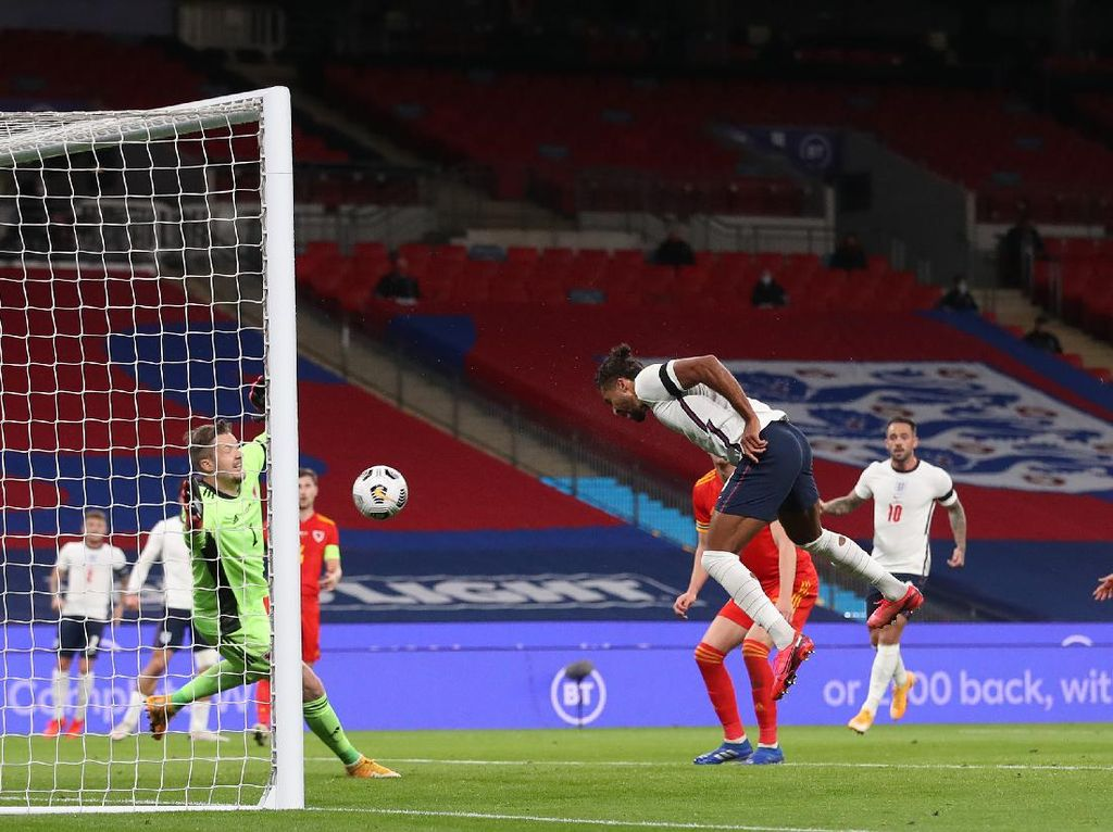 Inggris Vs Wales: The Three Lions Menang, Calvert-Lewin Sumbang Gol