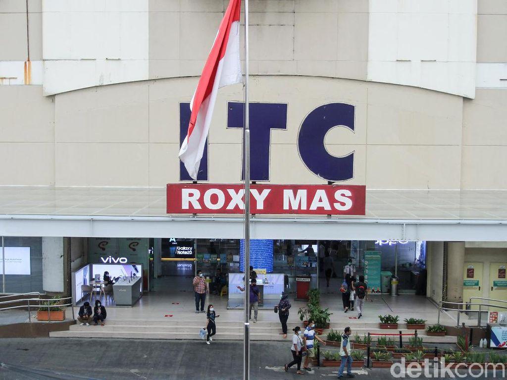 Penjarahan ITC Roxy Mas oleh Massa Ternyata Isapan Jempol Belaka