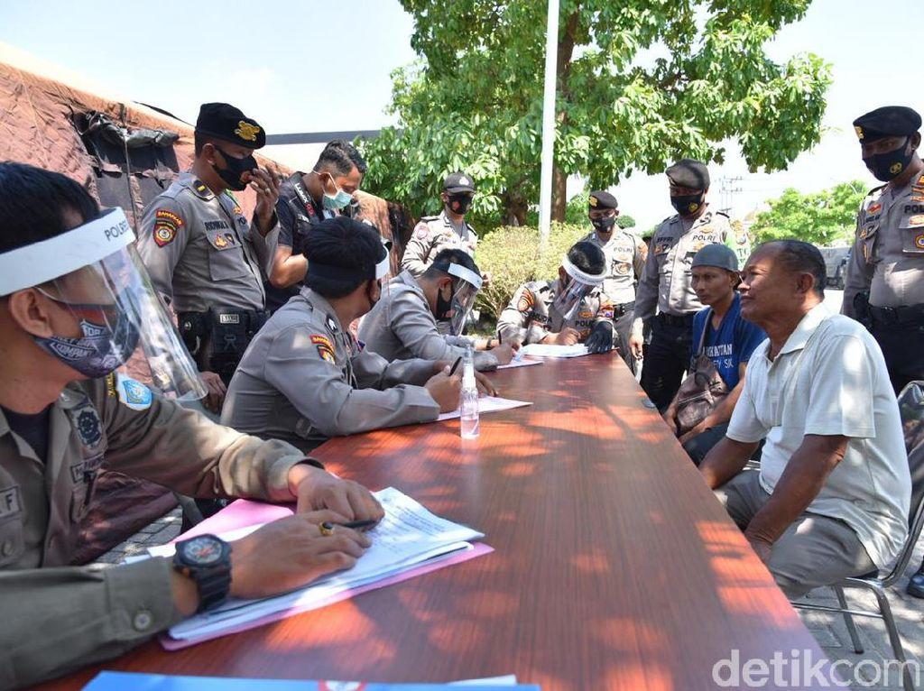 Jaring 444 Pelanggar Operasi Yustisi di Lamongan, Denda Capai Lebih Rp 21 Juta