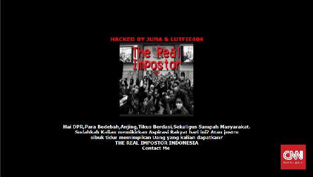 Kumpulan Situs yang Jadi Korban Peretasan Protes Omnibus Law. (tangkapan layar/jonathan)