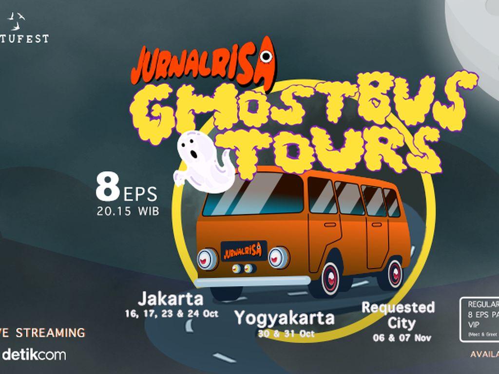 Mau Ikut GhostBusTour Bareng Jurnalrisa? Simak Caranya di Sini
