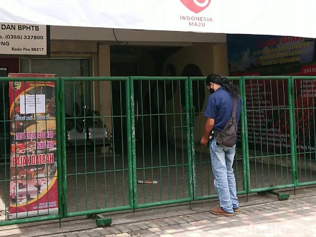 Satu Karyawan Positif COVID-19, Kantor Layanan Bapeda Tulungagung Ditutup