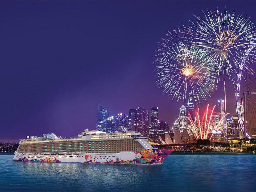 Singapura Buat Rute Kapal Pesiar ke Antah-berantah, Berlayar November
