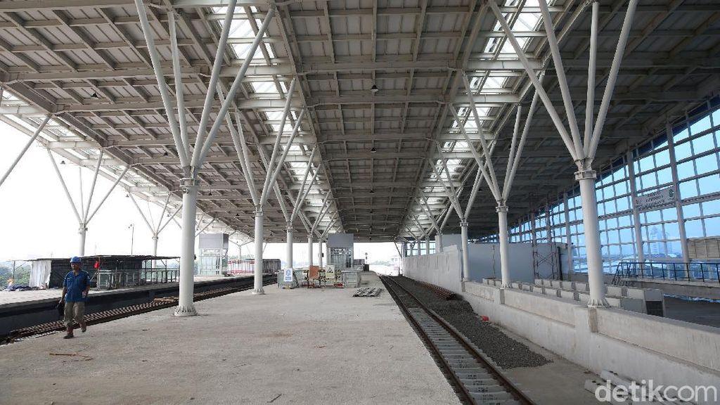 Menengok Pembangunan Stasiun Manggarai yang Siap Gantikan Gambir