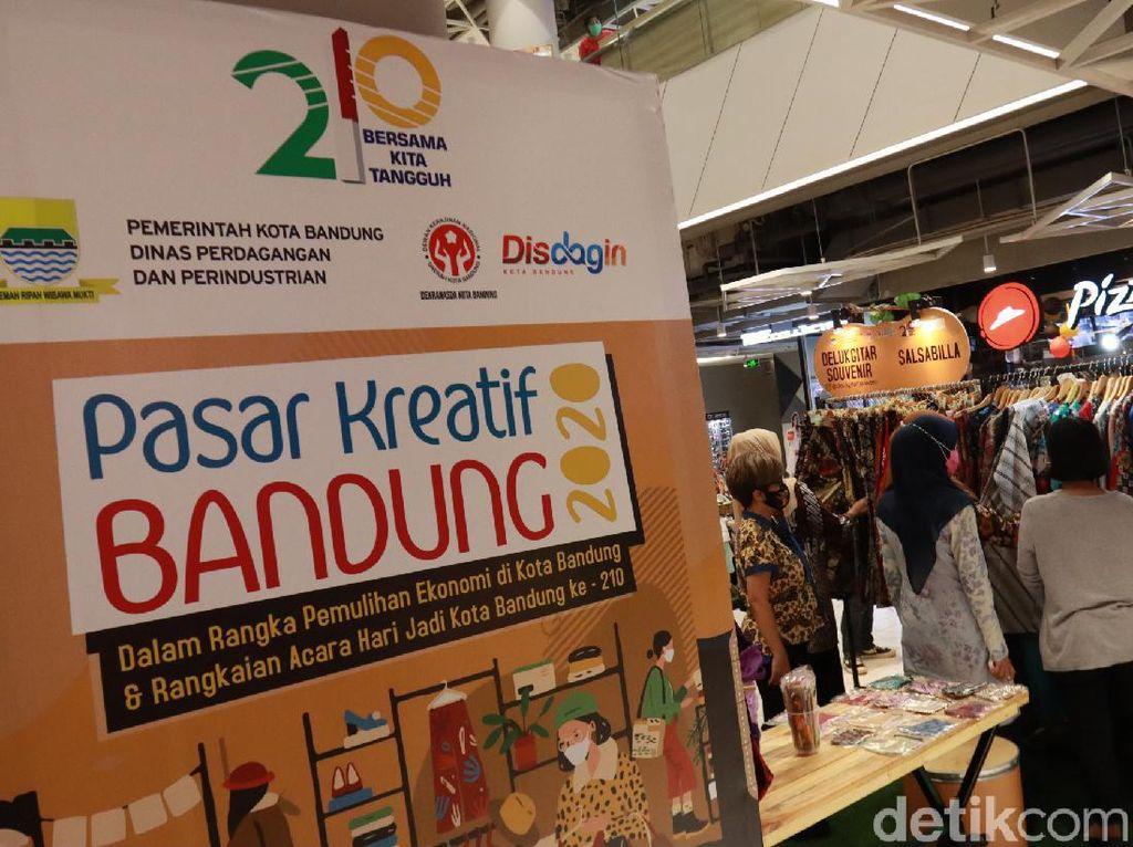 Wisata Bandung: Mampir ke Pasar Kreatif Fesyen dan Craft, Yuk!