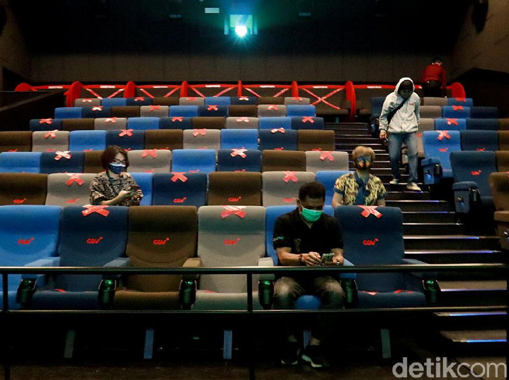 7 Bulan Mati Suri, Akhirnya Bioskop di DKI Hidup Lagi