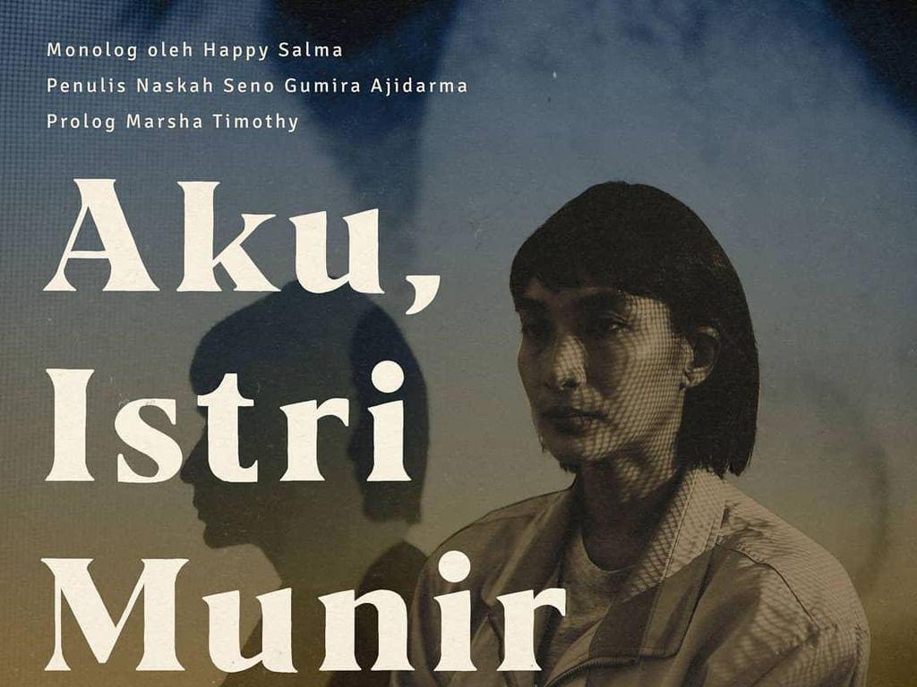Pentas Daring Aku, Istri Munir Digelar Sepanjang 10 Oktober