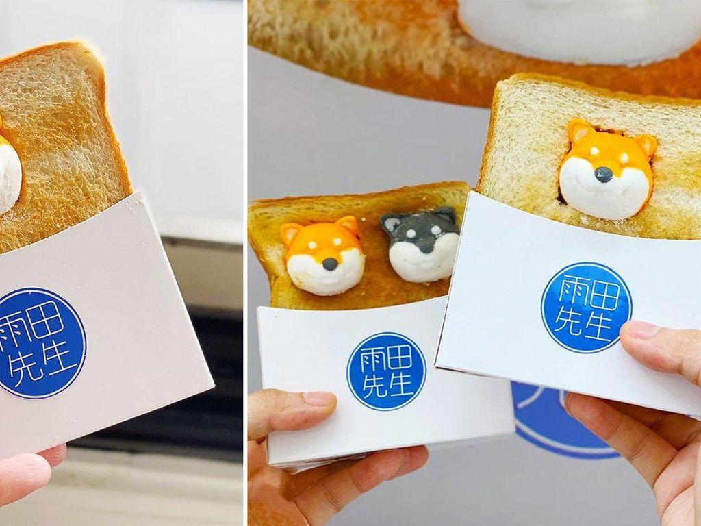 Gemas! Roti Bakar Ini Disajikan dengan Marshmallow Anjing