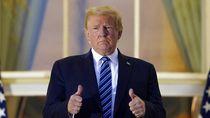 Donald Trump Sebut Goggle Corona, Memenya Bertebaran di Dunia Maya