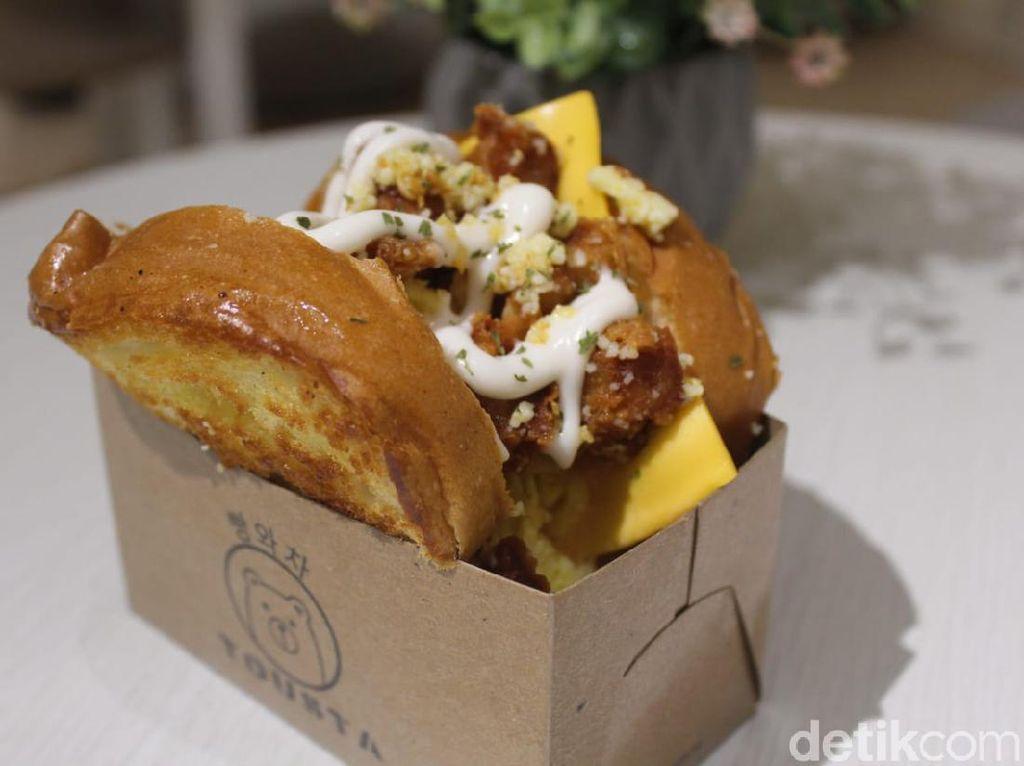 Tousta : Lumer Padat! Roti Bakar Gaya Korea