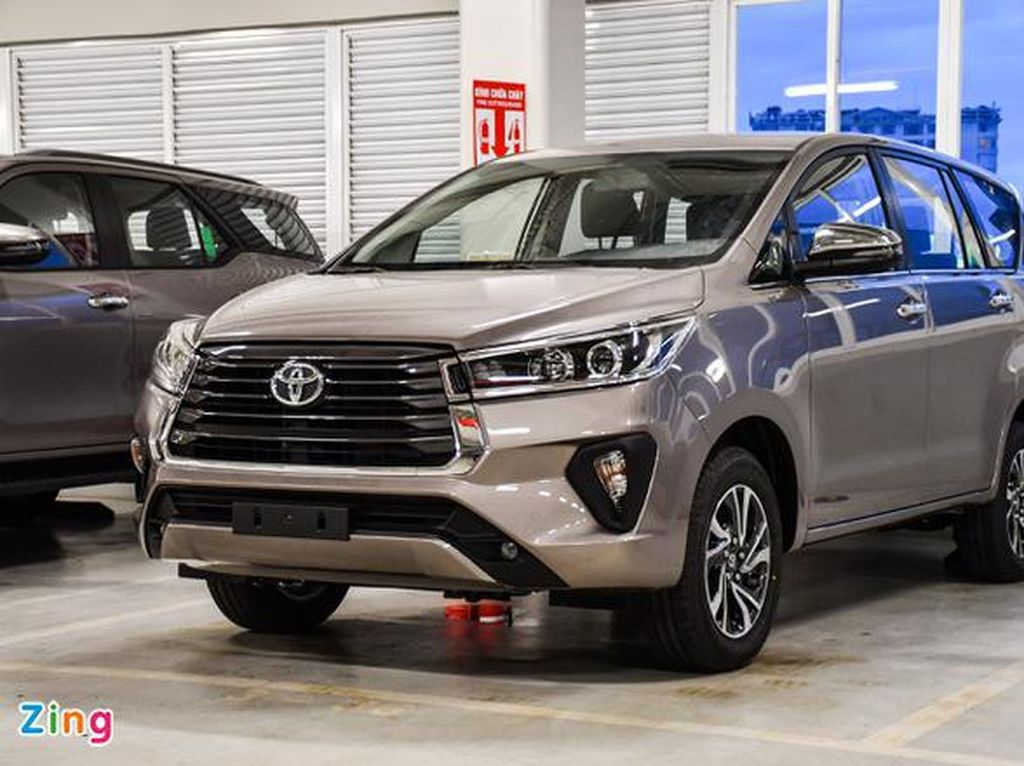 Nih Wujud Toyota Innova Facelift Model 2021
