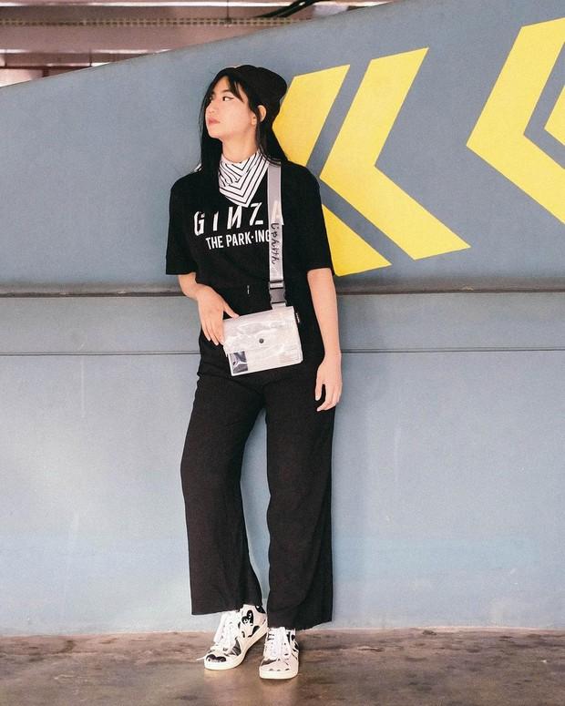 Gaya fashion all of black