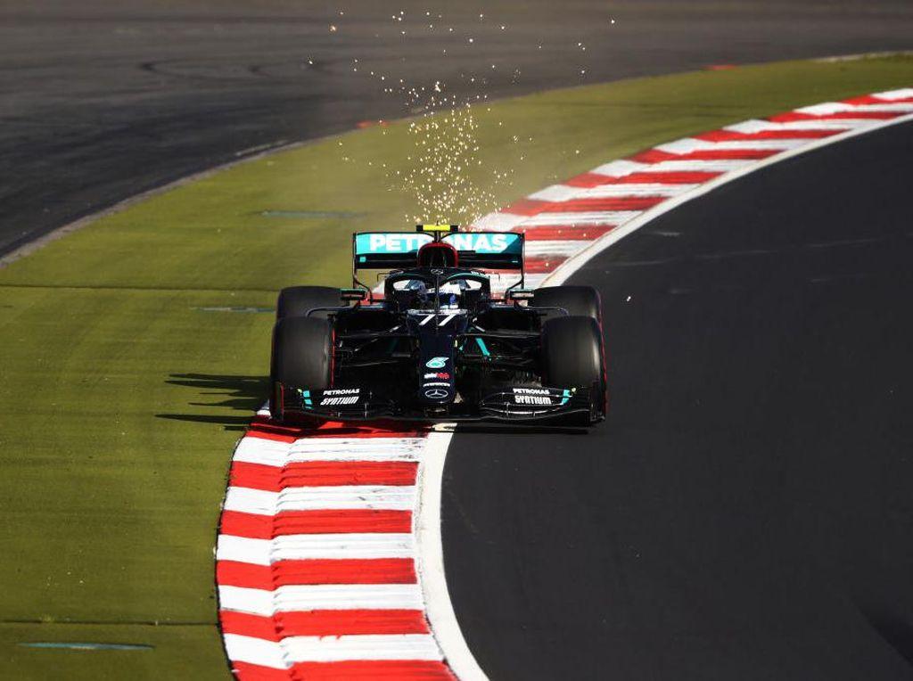 Hasil Kualifikasi F1 GP Eifel: Ungguli Hamilton, Bottas Raih Pole