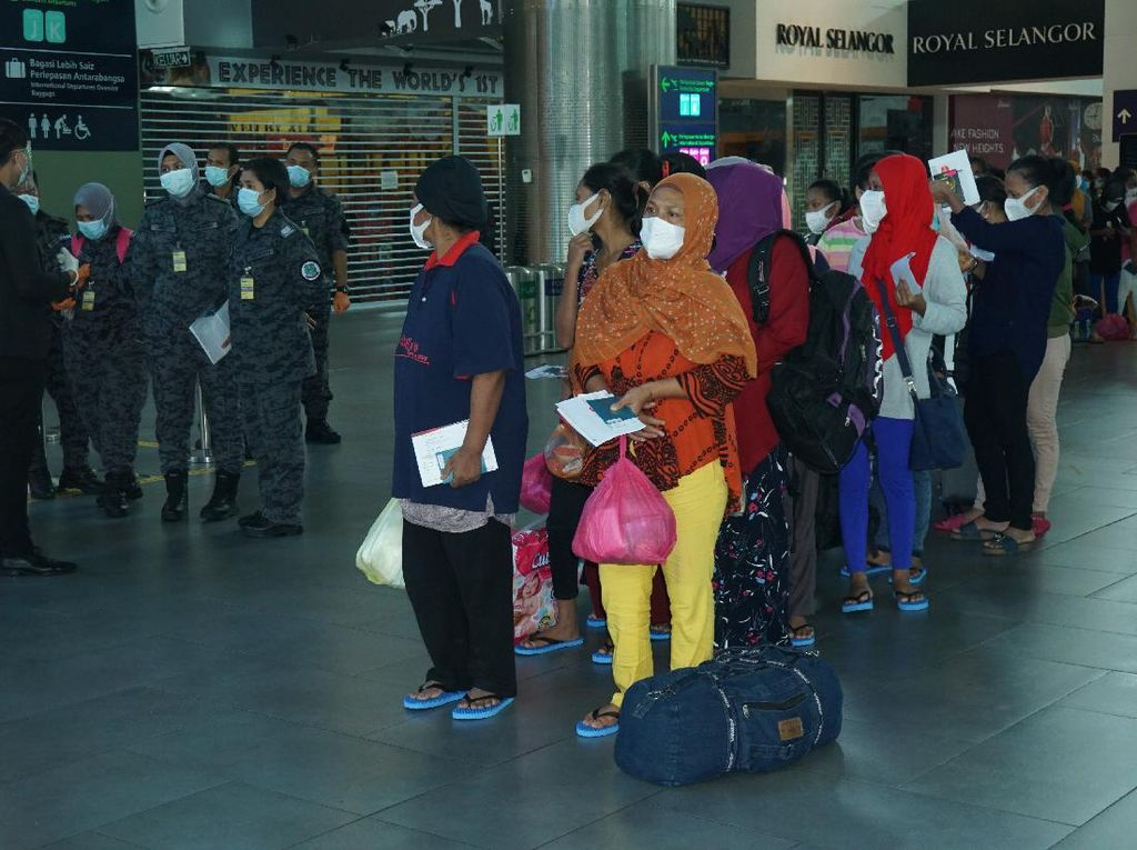 500 PMI Ilegal di Malaysia Dipulangkan