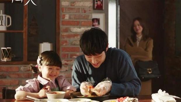 Baek Hee Sung dan anaknya