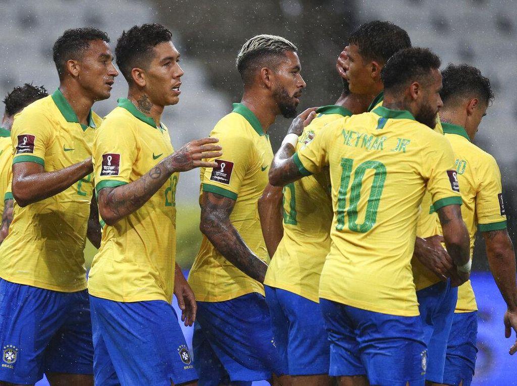 Video Pesta Gol Brasil ke Gawang Bolivia 5-0