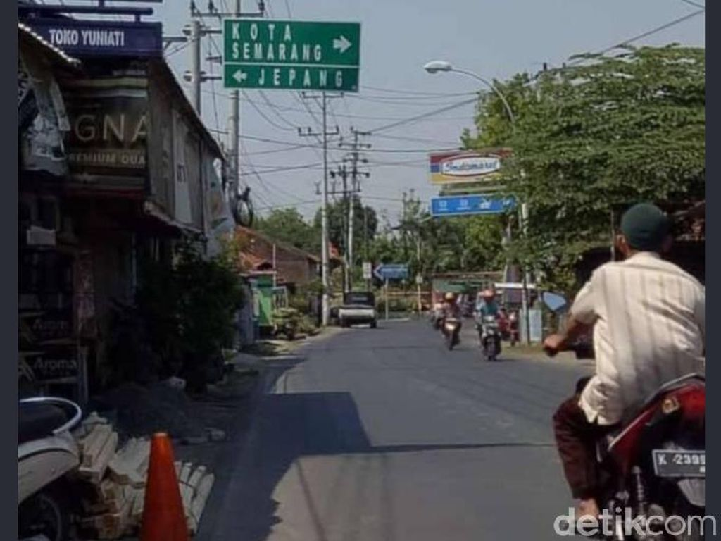 Viral Petunjuk Jalan ke Jepang-Semarang, Ada Kisah Arya Penangsang di Baliknya