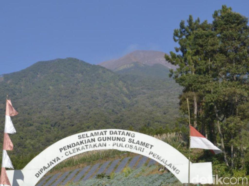 Status Gunung Slamet Kini Normal Setelah Setahun Lebih Waspada