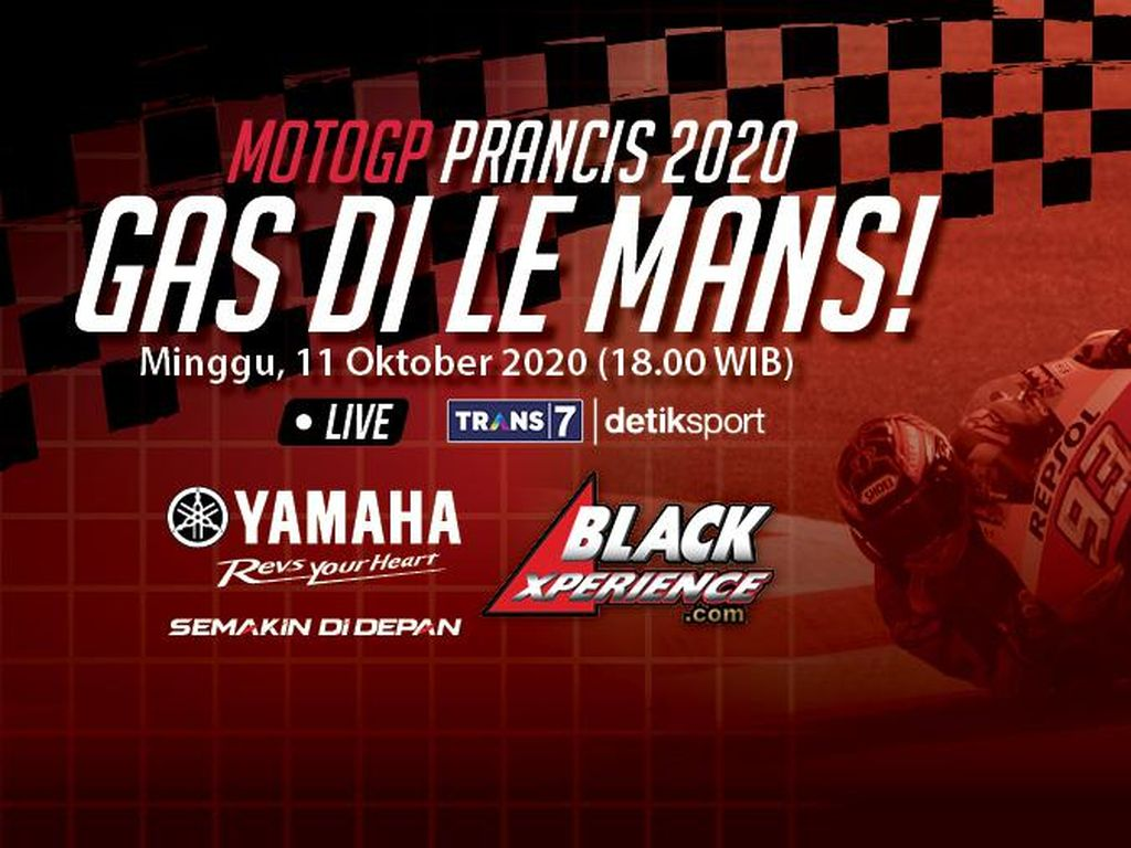 MotoGP 2020: Bisa Gas Terus di Le Mans, Quartararo?