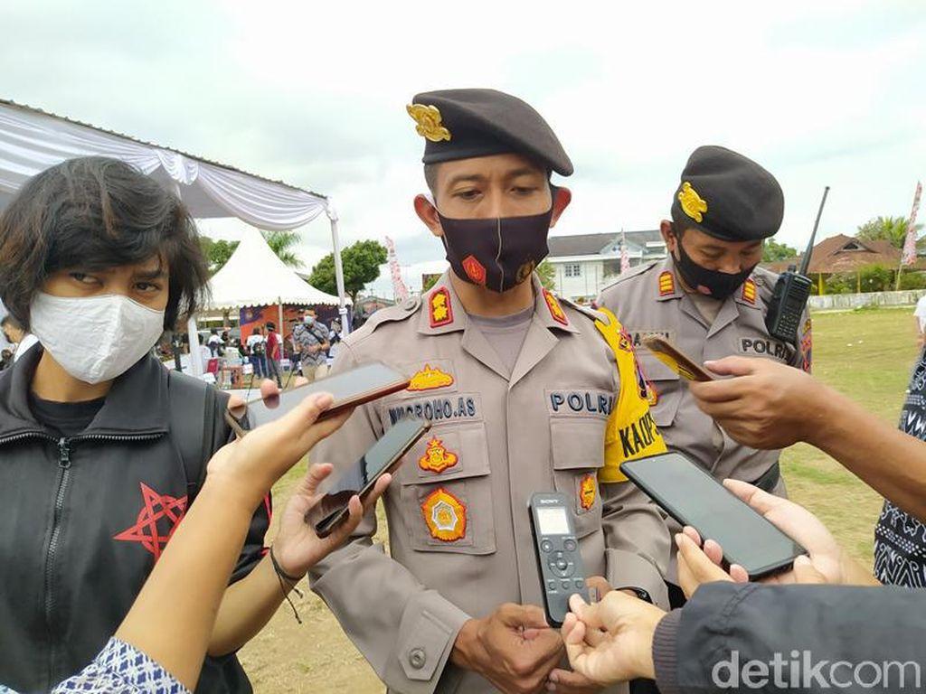 149 Anak Diamankan Polisi dari Kericuhan di Kota Magelang Kemarin